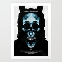 donnie darko Art Prints featuring Donnie Darko by Duke Dastardly