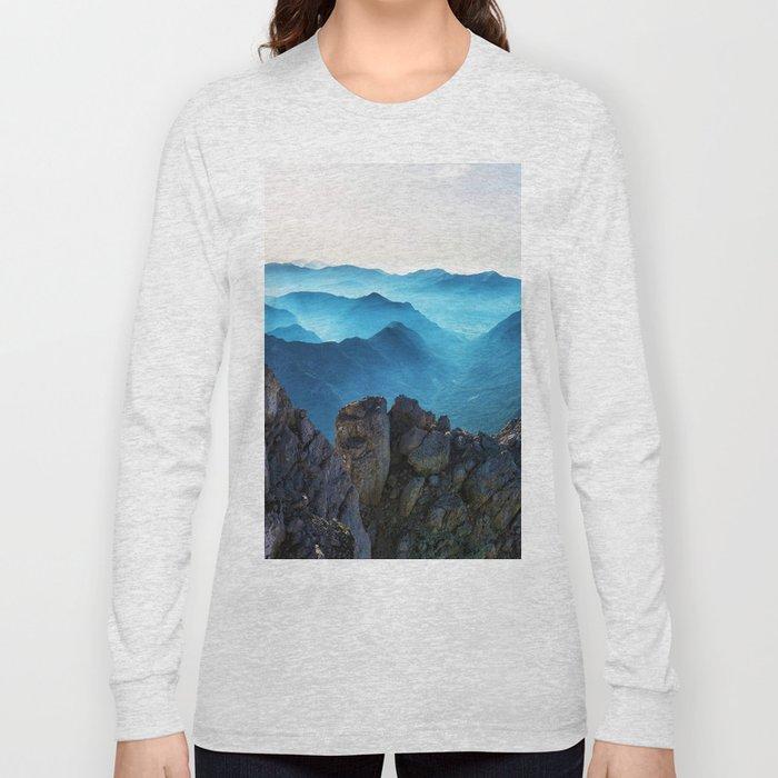Mountains Breathe Too Long Sleeve T-shirt