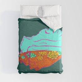 Conch Shell Terrarium Comforters