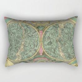 18th Century Planisphaerium Coeleste Rectangular Pillow