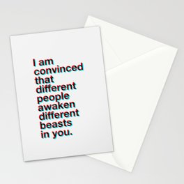 I Am Convinced Stationery Cards