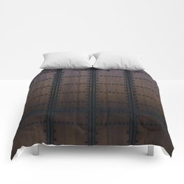 The Barrel by Brian Vegas Comforters