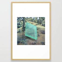 A Natural Displacement Framed Art Print
