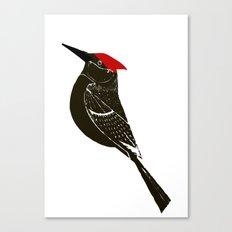 Birds- wood pecker Canvas Print