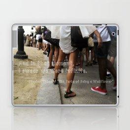...I swear we were infinite - The Perks of Being a Wallflower Laptop & iPad Skin