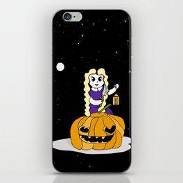 Halloween Pumkin iPhone Skin