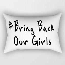 Bring Back Our Girls Rectangular Pillow