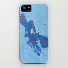 Kyogre iPhone Case
