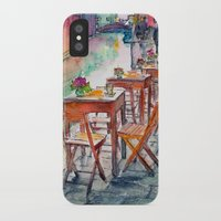 street iPhone & iPod Cases featuring Street by Anastasia Tayurskaya