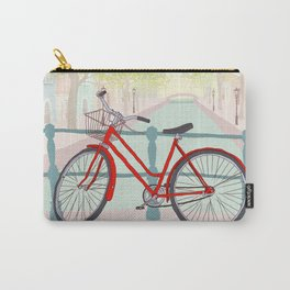 Amsterdam Canal Bike Carry-All Pouch