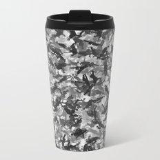 Silly walks camouflage Metal Travel Mug