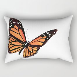 Geometric Butterfly Rectangular Pillow