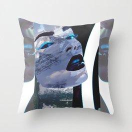 Rocky Mountain Widow Throw Pillow