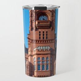 Cardiff Bay Pierhead Travel Mug