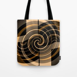 Caramel & Licorice Fudge Tote Bag