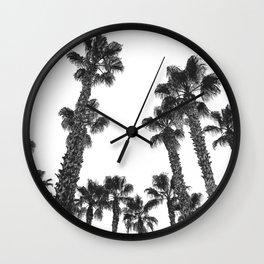 16 Palm Trees Art Print {2 of 2} Wall Clock