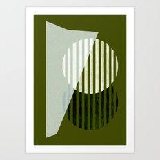 Partition Art Print