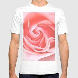 Velvet pink rose - Roses Flowers Flower T-shirt
