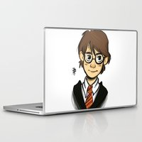 harry Laptop & iPad Skins featuring HARRY  by art of Bianca
