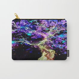 Wild Neon Apple Tree Watercolor by CheyAnne Sexton Carry-All Pouch