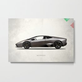 The Reventon Metal Print