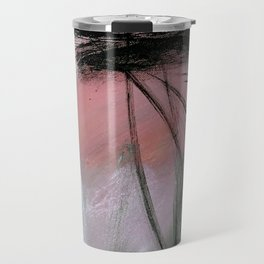 Train of thought [2]: a pretty abstract mixed media piece Travel Mug