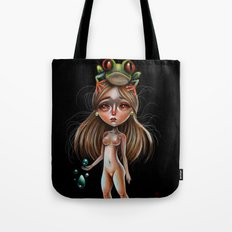 Little Lady and the Tree Frog Tote Bag