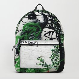 Manchester Northern Quarter Graffiti Backpack