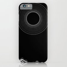 Black sun iPhone 6 Slim Case