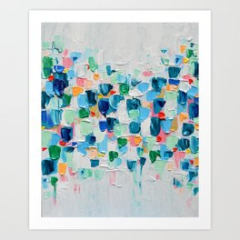 Tropical Confetti Art Print