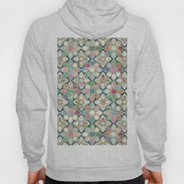 Muted Moroccan Mosaic Tiles Hoody