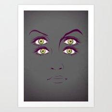 K. Art Print