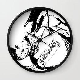 Manda-rino Wall Clock