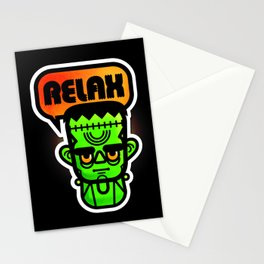 Frankie Says Relax Stationery Cards