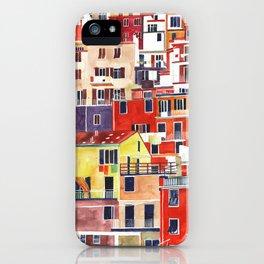 Cinque Terre vol 3 iPhone Case