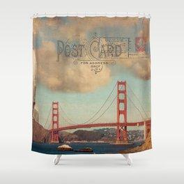 GROUND CONTROL - San Francisco Shower Curtain