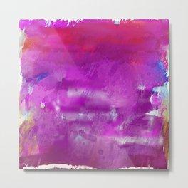 Purple paint! Metal Print