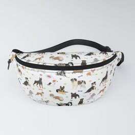 Various Dogs Pattern Fanny Pack