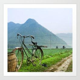 Vietnam Rice Fields - Six Art Print