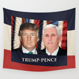 Trump Pence 2016 Wall Tapestry