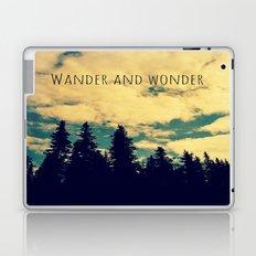 Wander and Wonder Laptop & iPad Skin
