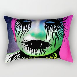 Rainbow Vampire Rectangular Pillow