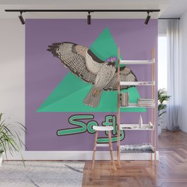 So Fly Hawk Wall Mural