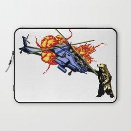 Bear vs. Apache Laptop Sleeve