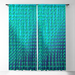 Raindrops pattern Blackout Curtain