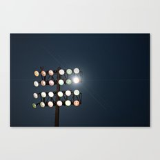 Beneath Friday Night Lights Canvas Print