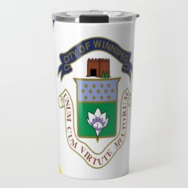 flag of winnipeg Travel Mug