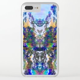 Deer King Clear iPhone Case
