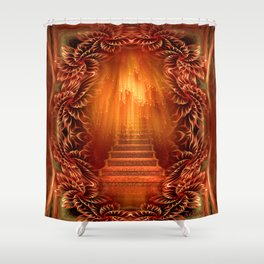 A glimpse of heaven Shower Curtain