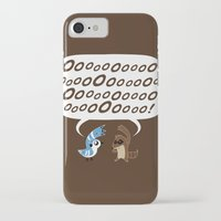 regular show iPhone & iPod Cases featuring Regular Show - Mordecai and Rigby by Joel Jackson